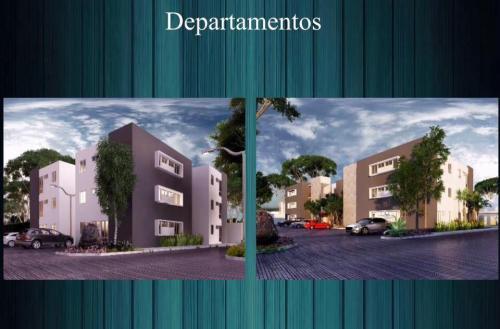 Departamentos en zona privada residencial.