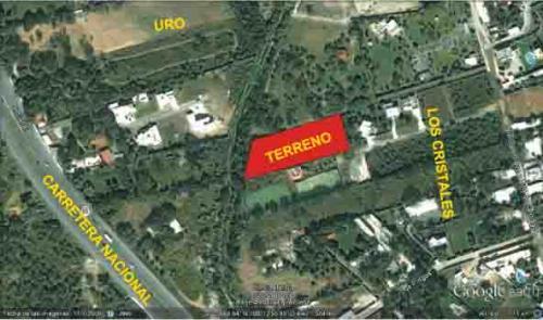 TERRENO LOS CRISTALES PLANO 5311 M2 $9´000,000. EXCELENTE OPORTUNIDAD.