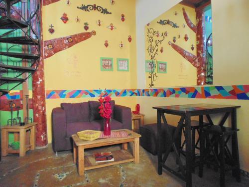 Lofts con decorado tradicional al sur de la CDMX precio por noche