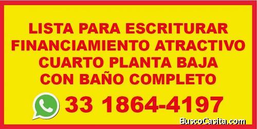 ESTRENA NUEVA AUN $REMATE/PREVENTA LOS ROBLES-ZAPOPAN-COCINA EQUIPADA+CUARTO PLANTA BAJA+ESTUDIO