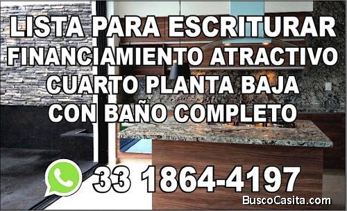 NUEVA A$PREVENTA EN ROBLES-ZAPOPAN-ESTUDIO+CUARTO PB+COCINA EQUIPADA+SALA JUEGOS